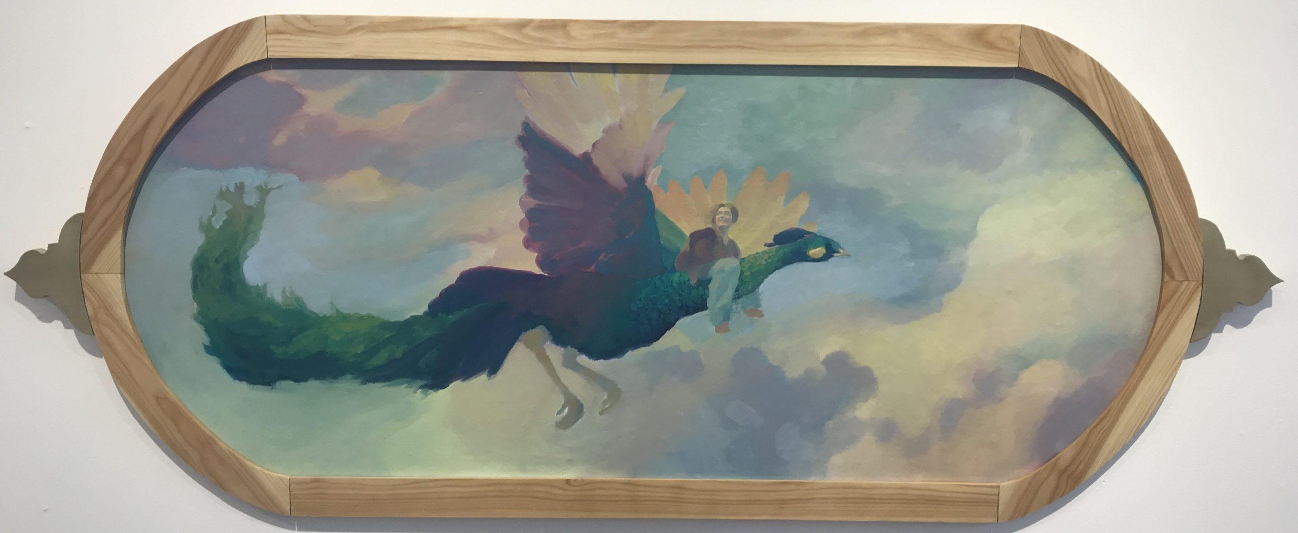 Anna Vogel<br>Flight of the Peacock    $300