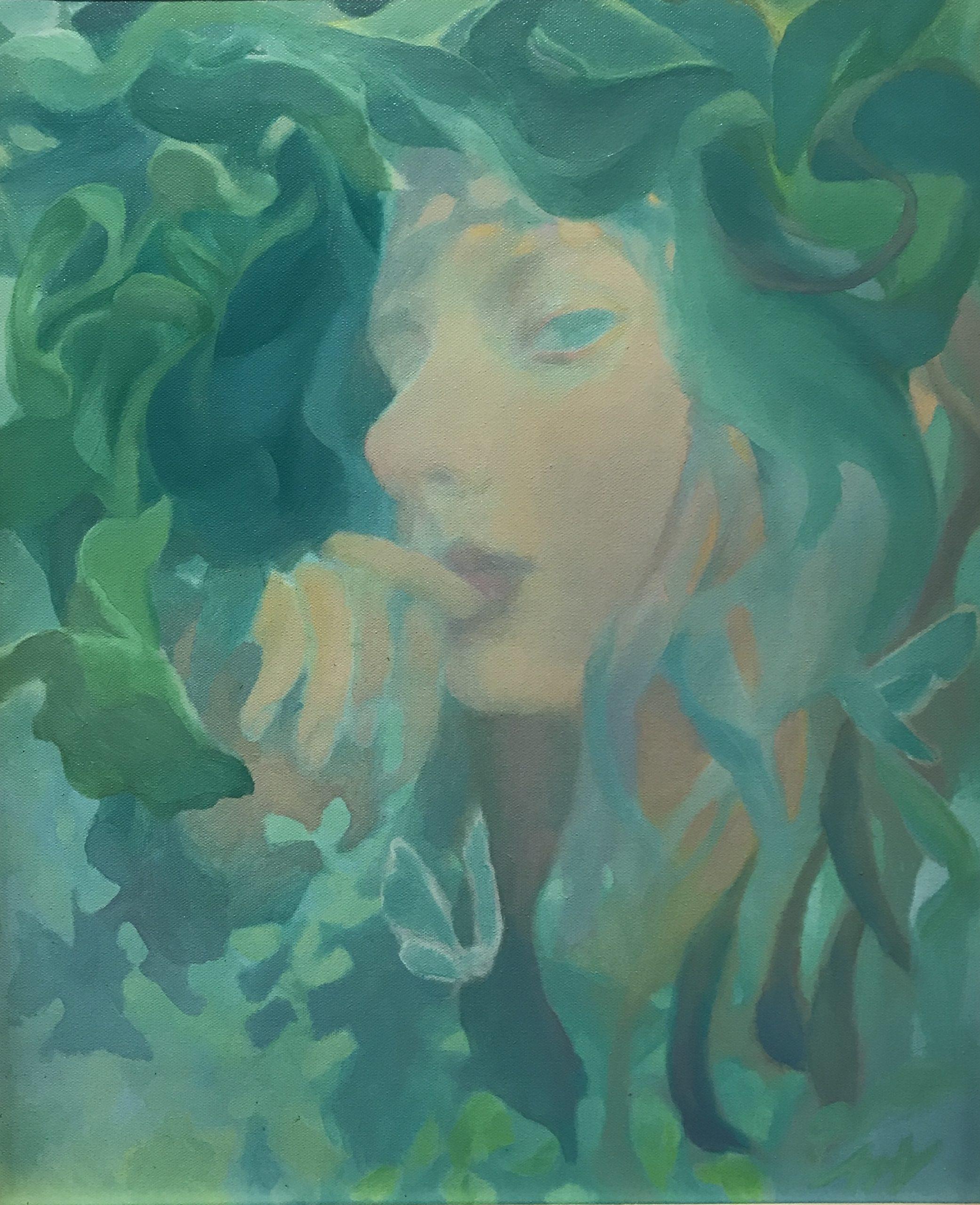 Anna Vogel<Br>Green Magic   SOLD
