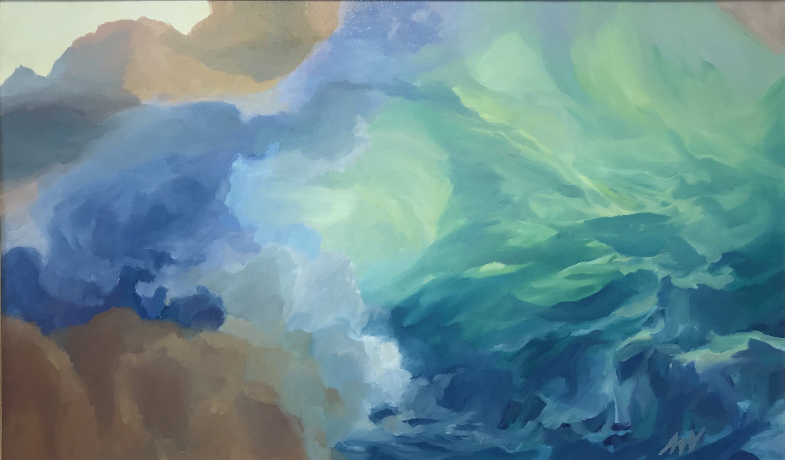 Anna Vogel<Br>Heart of the Wave   $400